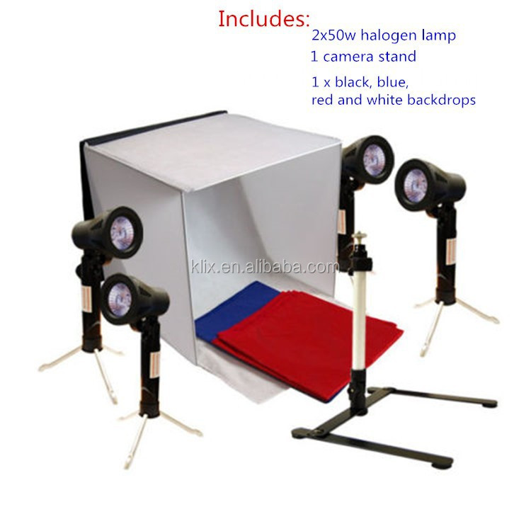 Hot selling Foldable Photo Studio 50 x 50cm photo light tent For Photography