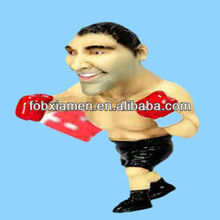 Funny Dela Hoya Resin Sporting Boxing Figurine