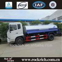 4x2 Diesel Manual 9.5m3 Water Sprayer Truck