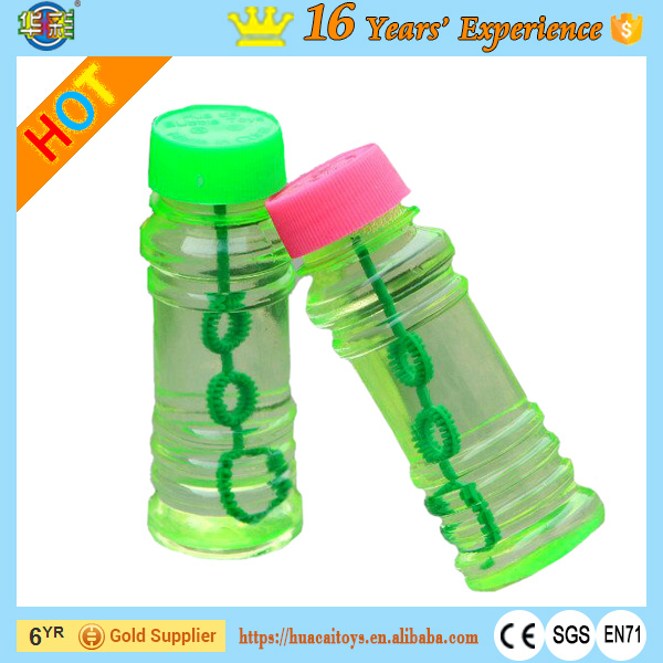 New Transparent Bottle Soap Bubble Water Blower