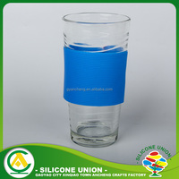 Eco-Friendly heat-proof custom silicone cup sleeve