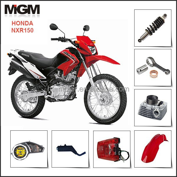 Factory motorcycle spare parts ,for honda motorcycle parts NXR150