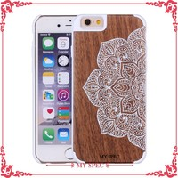 New arrival fashion design emboss waterproof/bamboo mobile phone case for Galaxy S4
