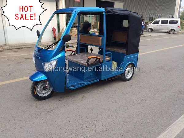800W 1000W 1200W Hot sale cheaper double seat electric three wheel tricycle