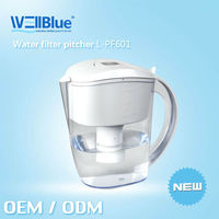 2013 Wholesale Alkaline Water JugL-PF601 (pH: 8.5-10.4 ,ORP -150mv to-300mv)