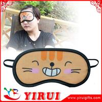 Natural Silk Contoured and Comfortable sleep eye mask with ear plugs