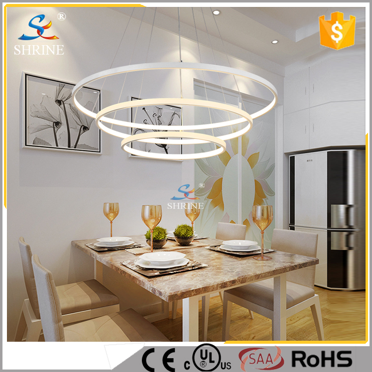Modern Ring Acrylic LED Pendant Lighting Contemporary Pendant Lighting Model SC717