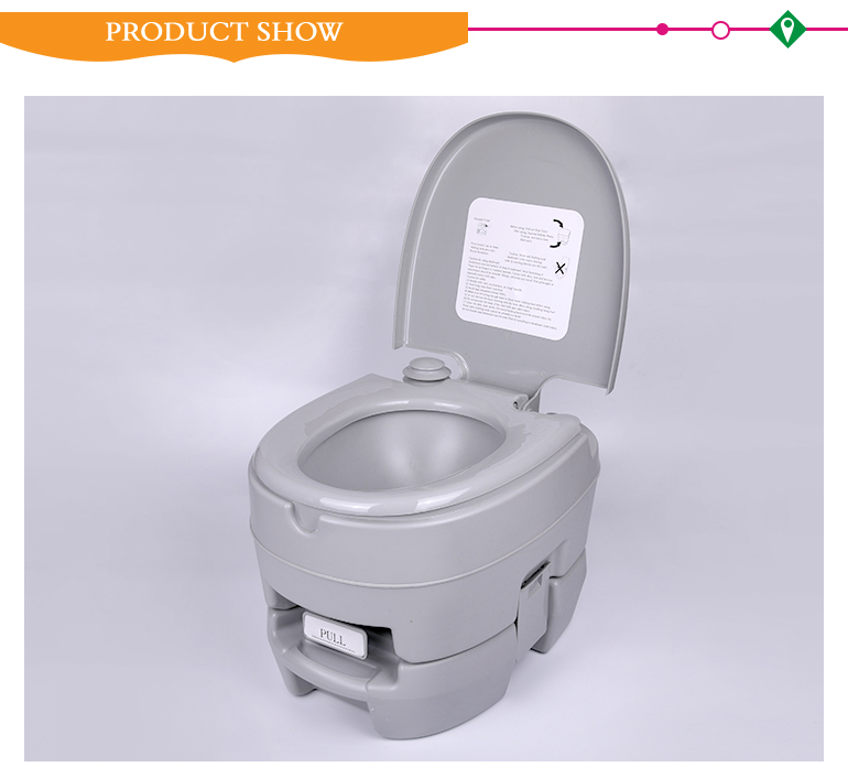 Indoor outdoor hospital mobile wc camping plastic portable toilet for sale