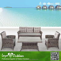 Approval Overseas Factory audit garden series wholesale relaxing rattan sofa sets outdoor furniture