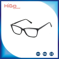 2016 Ready goods acetate optical frame manufacture in China popular design