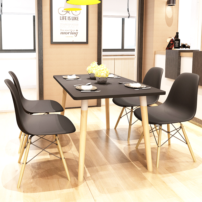 Dining Room Set Furniture Modern Design High Quality Simple Style Dining Table and Chairs Set