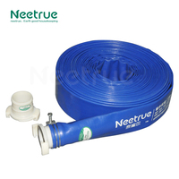 water delivery pvc lay flat 5 inch pipe for agricultural irrigation