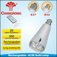 classic 10pcs led rechargeable bulb lamp made in china