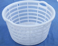 Flexible garden plastic basket with handle(square,round on sale)