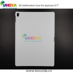 "2016 sale 3d sublimation cover mobile tablet for ipad pro 9.7"" inch"