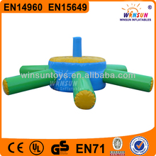 Customun fun hot sale water game new inflatable float table