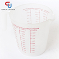 1000ML 1200ML Transparent PP Plastic Measuring Cup