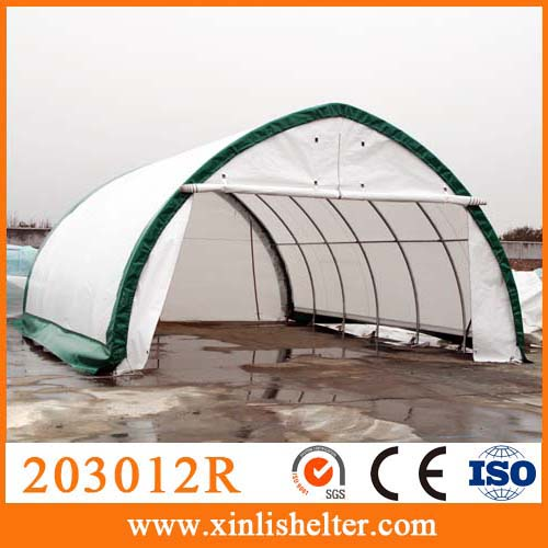 Fabric Car Shelters : Uv resistant fabric cover portable car garage sun shelter