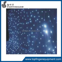 TFR LED star curtain ,led curtain lights for Stage backdrop/led light black curtain