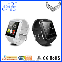 Cheap wholesale mobile phone bluetooth U8 smart watch 2015