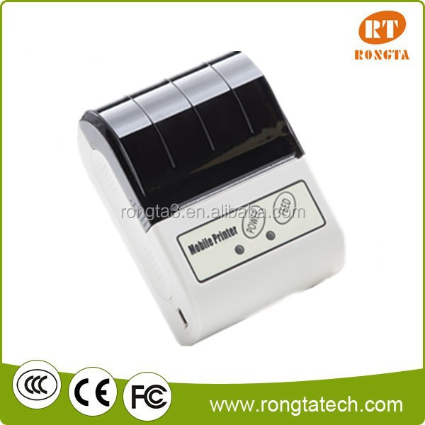 Support Android iOS 58mm Portable Bluetooth Mobile Thermal Printer