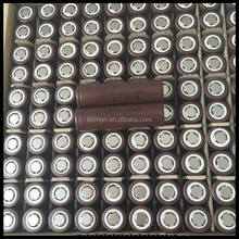 peak discharge rate 3.7v 18650 lg hg2 cheap price LG 18650 battery 3000mah hg2 Electronic cigarette 18650 rechargeable batteries