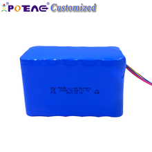 Prismatic lithium ion 18650 12V 15Ah li-ion battery pack for medical equipment