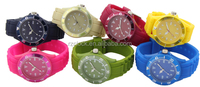 InTimes Speeder Big Casual Plastic Case Silicone Band Sports Watches 2016