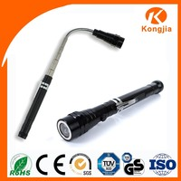 3 LED Magnetic Led Light Telescopic Work Tool Flashlight with Magnet