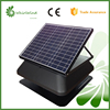 CharmSale Whirlwind solar powered axial roof fan,30W and 14inch rechargable solar battery system