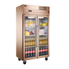 Home Glass Door Refrigerator Made In