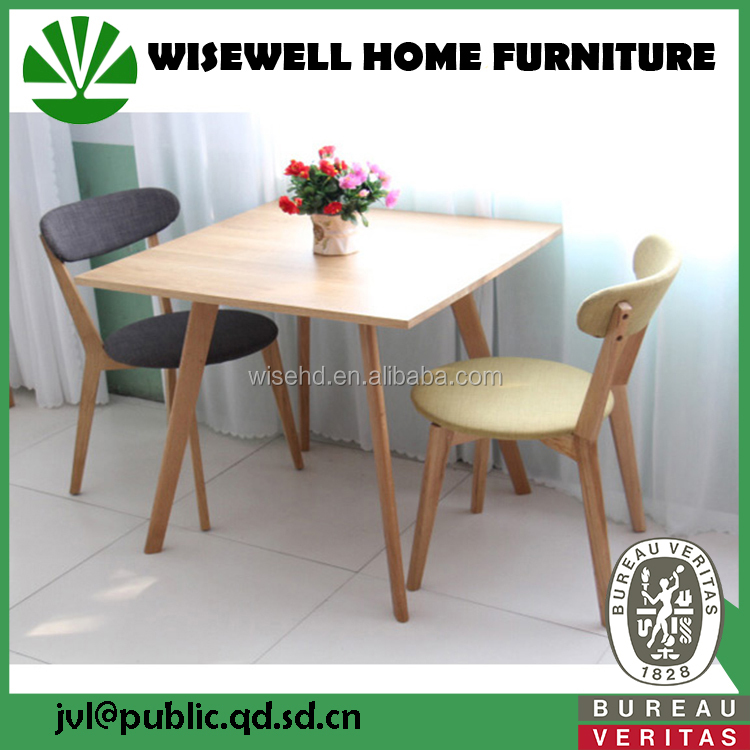 modern solid wood home furniture for dining set W-DF-9054
