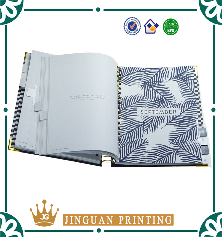 Customized 2018 Yo Binding Wedding Planner Planner Book