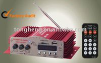 Amplifier. Audio. Car and motorcycle amplifier / stereo. Player. Reader amplifier