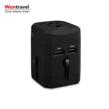 All In One Universal USB Travel Charger Power Adapter Charger AC Power Plug Adapter USA EU UK AUS Cell Phone Laptop