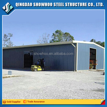 China Manufacturer Construction Building Steel Structures Metal Shed Kits