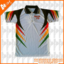 promotional design colorful men's polo shirts