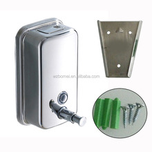 500ml800ml 1000ml Luxury Stainless Steel Wall Mounted hand Soap Dispenser Body