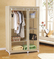 Fabric clothes folding home storage wardrobe