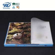 Three-layers double sided laminating film