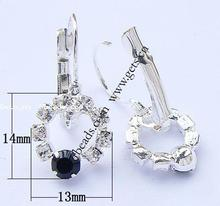 rhinestone leverback earring findings