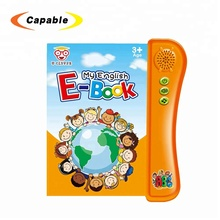 Early learning english electronic book readers for kids