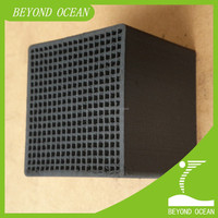 cubic shaped honeycomb activated carbon for air filtering