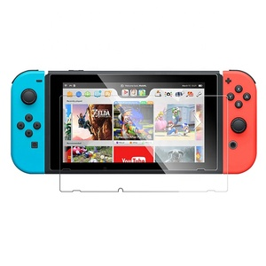 Best Anti Scratch Game Player Screen Tempered Glass Screen Protector for Nintendo Switch
