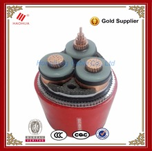 No.0310-- 11kV 15kV 33kV three phase price high voltage power cable 3x240mm 240 sq mm 240mm xlpe 3 core power cable