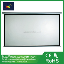 "100"" 4:3 inch future Manual pull down projector screen with selflock"