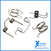 Steel tension trailer ramp coil springs