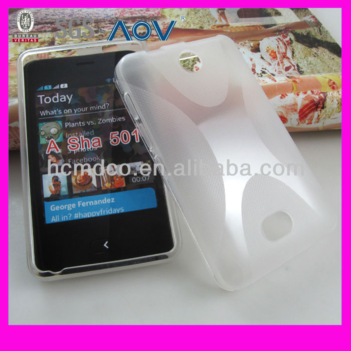 wholesales cell-phone cover for nokia Asha 501 X line cover
