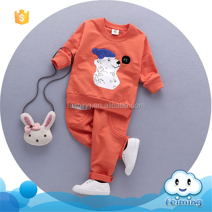 AS-368B China supplier children garments comfortable boys style baby clothes sets