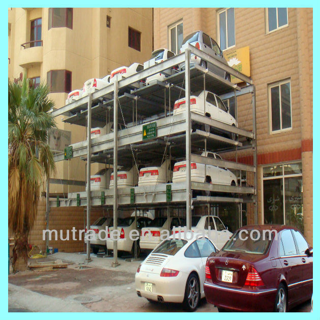 Automotive Garage Equipment parking lift manufacturer Parking system project